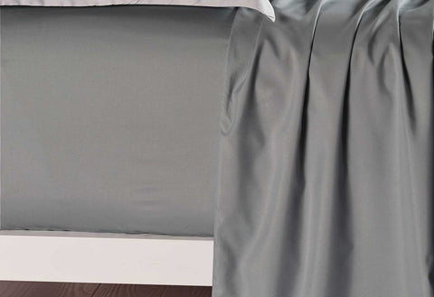 King Size Slate Color Fitted Sheet