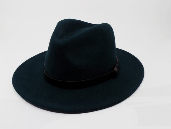 Panamas Hat | Hunter Green