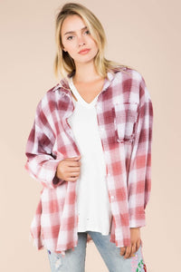 Oversized Cotton Flannel
