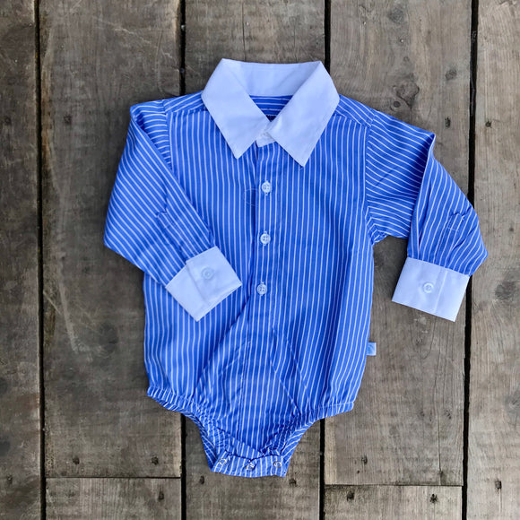 BOYS | Stripe Dress Shirt