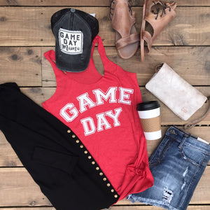 GAME DAY | Triblend Racerback Tank