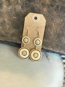 Gold Southwestern Earrings