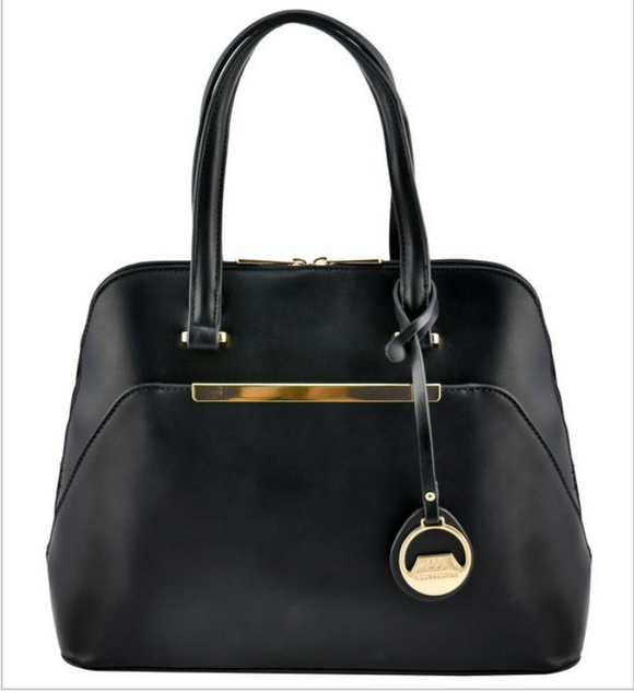 Sleek Black Purse