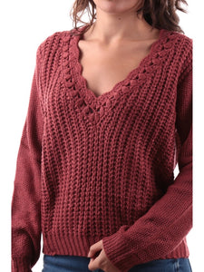 Old Pink Knitted Sweater
