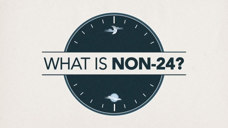 What is a non-24-Hour sleep-wake phase disorder and what can be done to treat it?