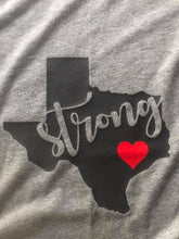 Texas Strong Unisex Short Sleeved T-shirt