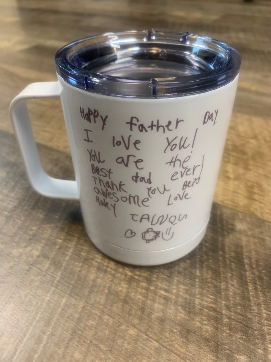 Kids Artwork - Handwriting Coffee Mug