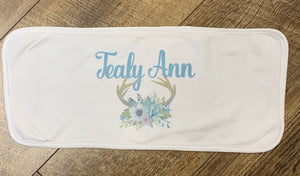 Printed Burp Cloth
