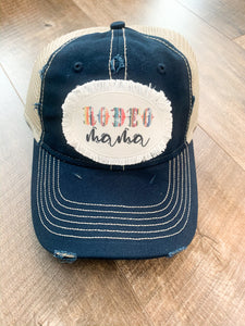 Rodeo Mama Rugged Patch Hat || Rodeo - Cookoff - FFA - 4H