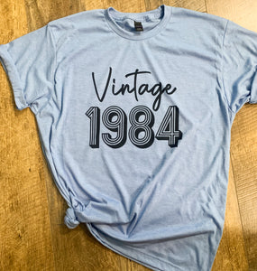 Vintage 1980 - Something Shirt