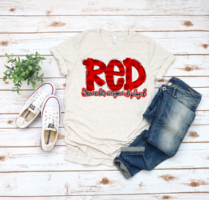 RED: Remember Everyone Deployed - Vintage Style T-Shirt