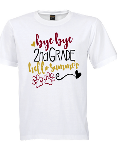 Bye Bye Grade, Hello Summer! Youth T-Shirt
