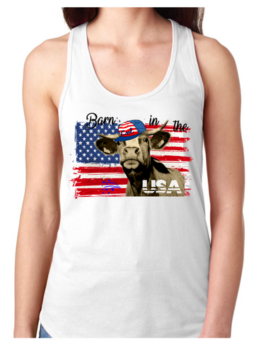 Barn in the USA - Patriotic Tank or T-Shirt