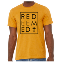 Redeemed + Cross Shirt