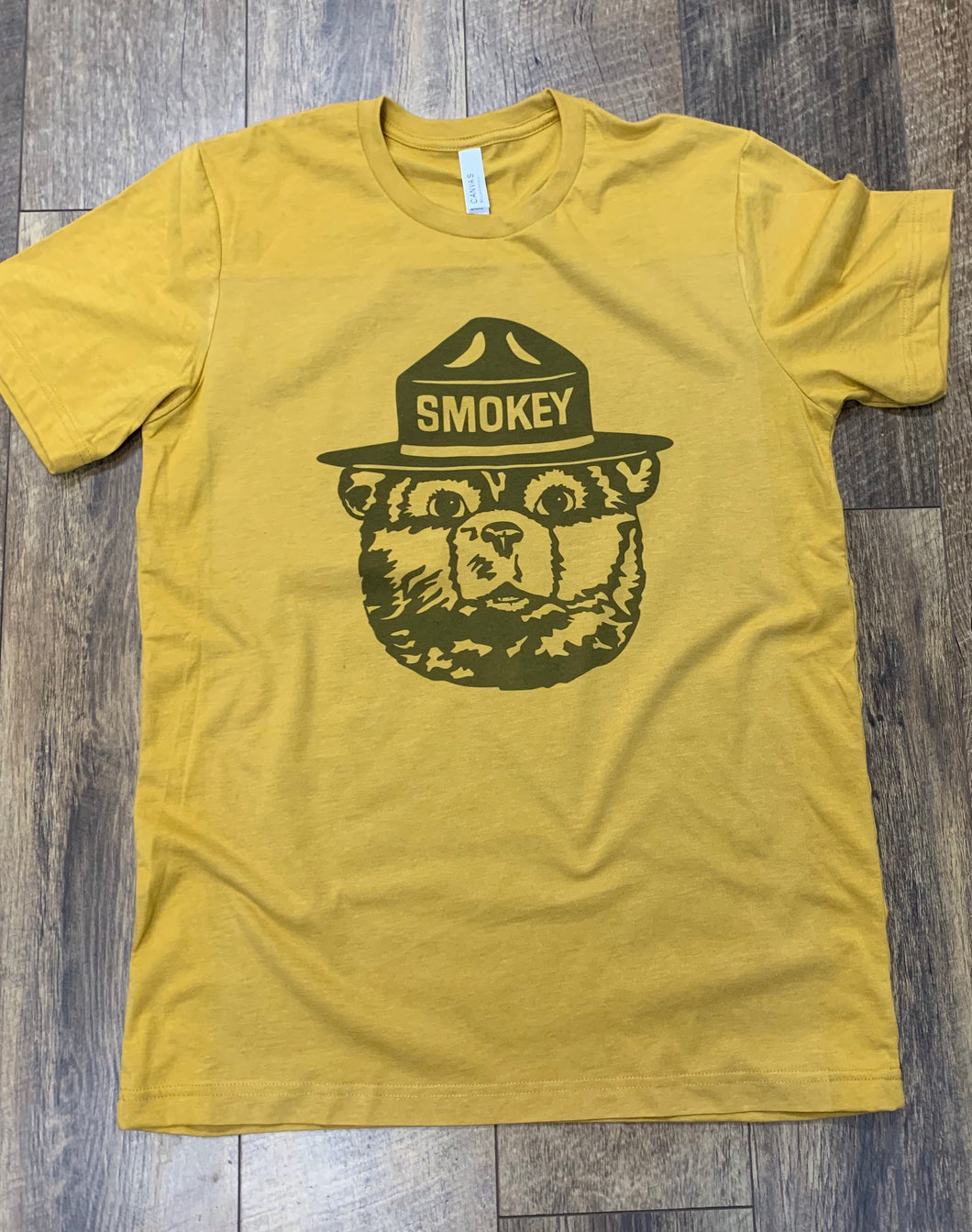 Smokey the Bear vintage style t-shirt