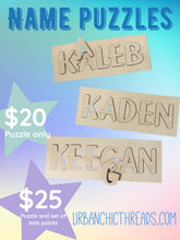 Name Puzzle || Puzzle Pack Craft Project