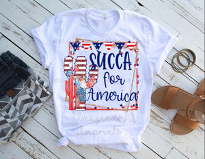 Succa for America - Printed T-Shirt or Tank