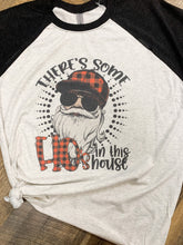 Santa There's Some Ho's In This House || Permanent Print Soft T-Shirt
