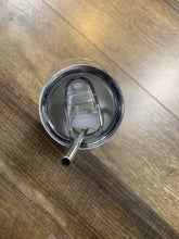 Custom Printed Tumbler with Lid and Metal Straw