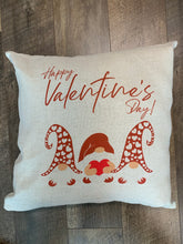 Valentine's Day Gnomes Throw Pillow