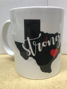 Texas Strong Coffee Mug