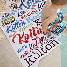 Pool Towels - Custom Printed, Monogrammed Pool or Beach Towels