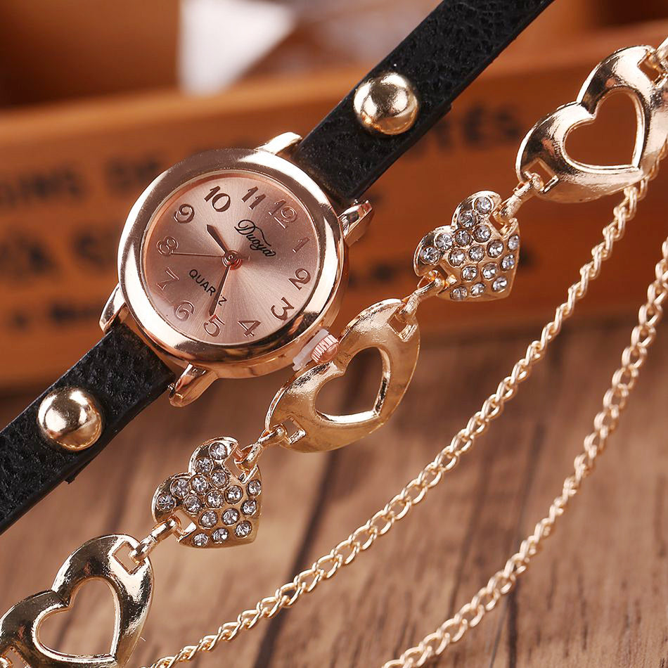 Fashion Love Multi Chain Watch