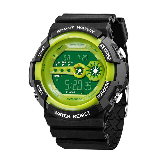 Electronic Compass Sport Watch