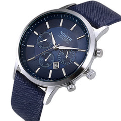 Aqua Metallic Watch