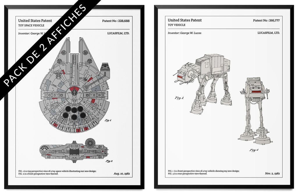 Pack de 2 affiches - Star Wars