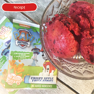 BAKING WITH FRUITFUNK – HEALTHY STRAWBERRY ICECREAM