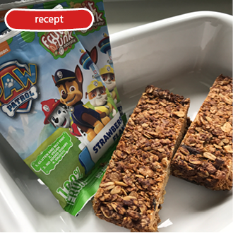 BACKING WITH FRUITFUNK – MUESLI BAR
