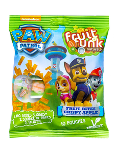 Paw Patrol Multibag Crispy Apple