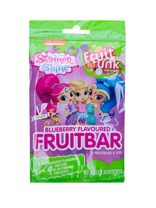 Shimmer & Shine Fruitbar Blueberry 3-pack
