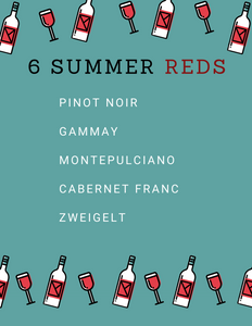 6 Light Summer Reds