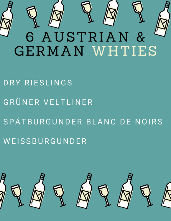 6 Austrian and German Whites