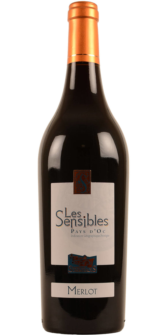 Case of 6 Les Sensibles Merlot