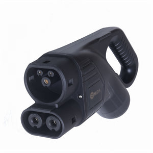 CCS DC Rapid Charge EV Connector Handset with 6 meters 150A DC Charging Cable pre-fitted, Type 2 Combo (IEC 62196-3)