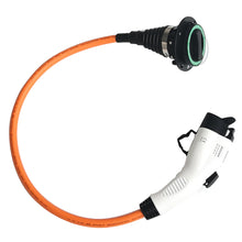 Type 2 to Type 1 EV / PHEV Charging Charge Cable Adapter Adaptor Converter - 32amp, 1 meter