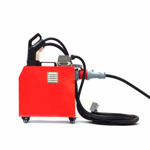 26kw portable EV charger by Electway, CHR-30, rapid DC output CCS & Chademo connectors, Ideal for vehicle dealerships and other commecial premesis