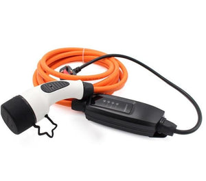 Honda-e EV Home Charging Cable - 10amp EVSE - 5 meters long - UK to Type 2