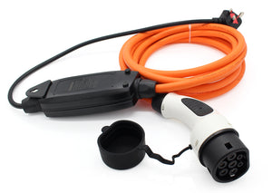 Smart EQ for two / for four Charger, Charging Cable - 10amp EVSE - 5 meters long - UK to Type 2
