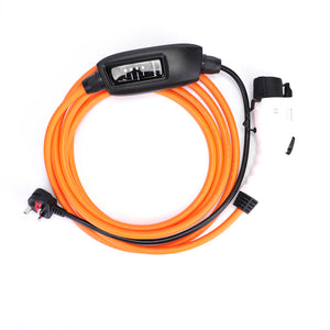 Fisker Charger, Home Charging Cable - 10amp EVSE - 5 Meters long - UK to Type 1