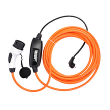 Volkswagen ID 3 / ID.3 Charger, Home Charging Cable - 16amp, Schuko (EU) to Type 2 in-line portable mains EVSE - 5 meters