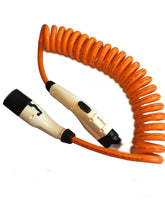 EV Charging Cable - COILED - Type 2 to Type 1 - 7kw / 32amp