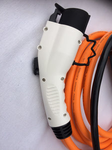 Commando / CEE to Type 1 EV Charging Cable, upto 7.3kw per hour. Nissan, Mitsubishi, Citroen, Chevrolet, Fiat, Ford, Honda, Peugeot, Toyota, Vauxhall PHEV / EV Charger - 32amp EVSE - 5 meters long
