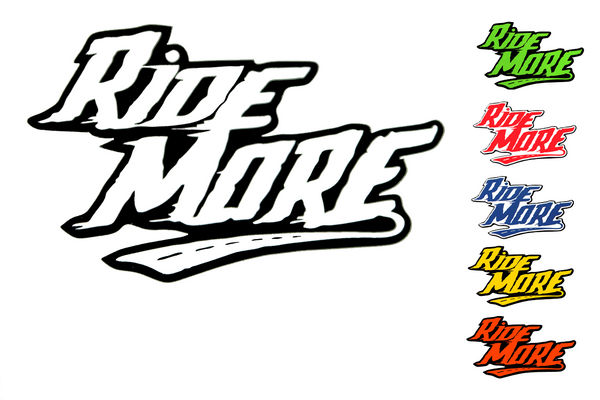 ride more decals stickers