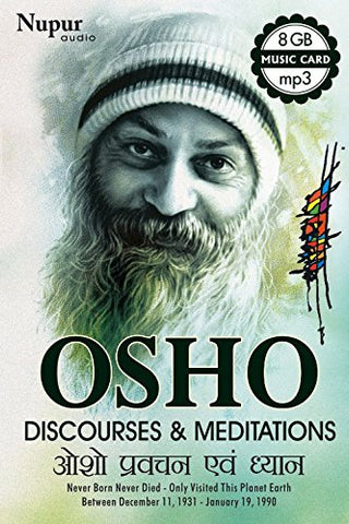 Osho Discourses & Meditations (8 GB - Music Card - mp3)