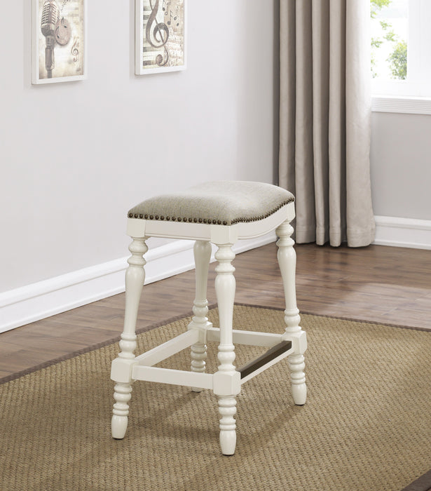 Hampton Saddle Seat Counter Stool