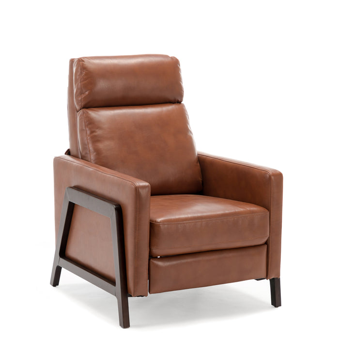 Maxton Push Back Recliner -Caramel